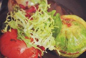 Zapekaná plnená zelenina