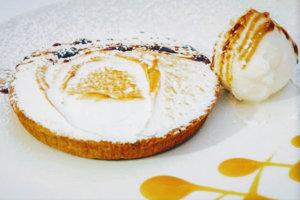 Tartaletky s citrónovým krémom a snehovou perinkou