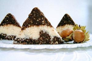 Kokosovo-čokoládové trojuholníky