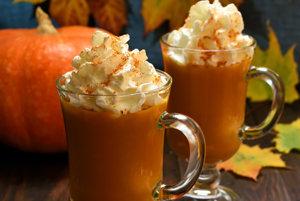 Tekvicové latte s korením
