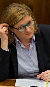 Ministerka pôdohospodárstva a rozvoja vidieka SR, Gabriela Matečná