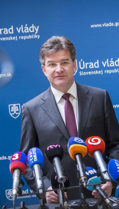 Miroslav Lajčák, minister zahraničných vecí