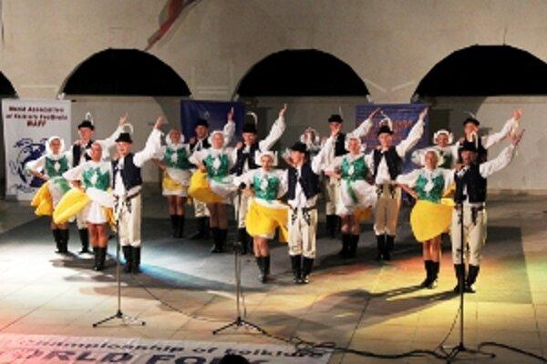 Súťažné vystúpenie v meste Sveti Vlas.