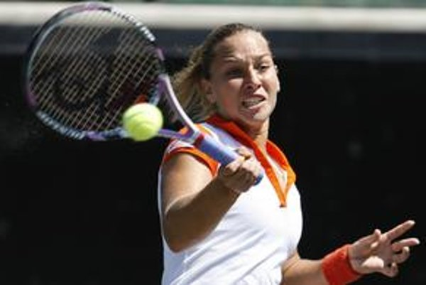 Dominika Cibulková vyhrala v prvom kole na Roland Garros.