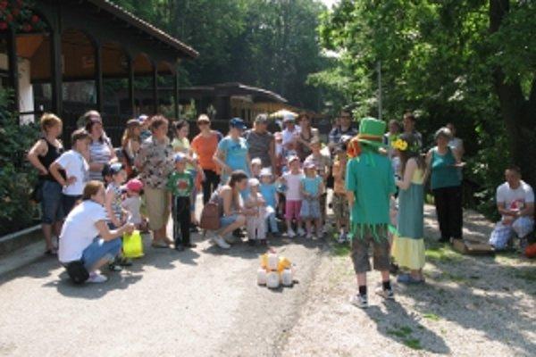 Podujatie pre deti sa konalo v areáli Dubník I.