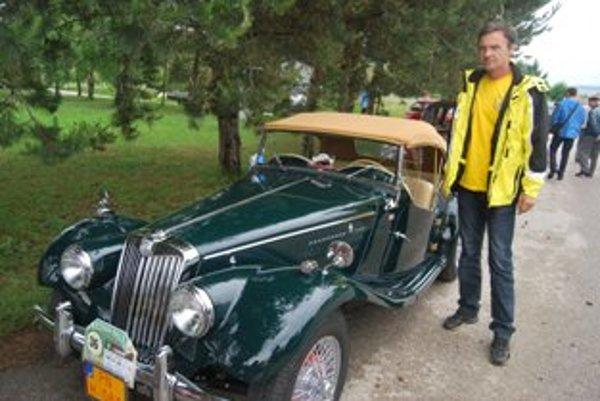 Britský športiak MG TF Vojtecha Andreleho je jediný na Slovensku