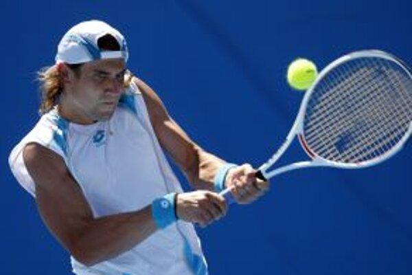 Dominik Hrbatý sa stretne v druhom kole Australian Open so Španielom Davidom Ferrerom.