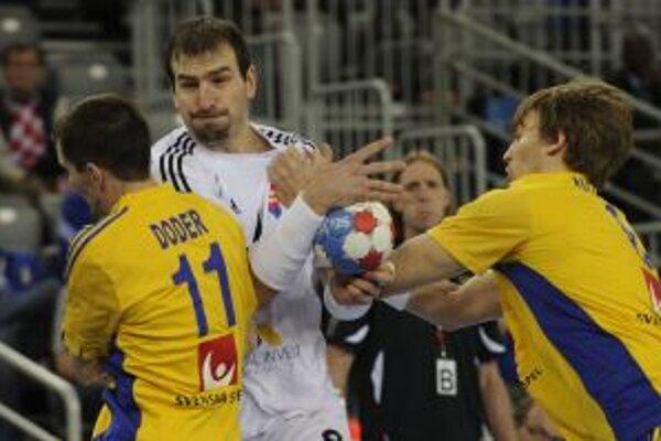 Slováci nastúpili proti Švédom.