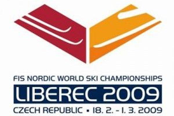 Logo libereckého šampionátu v v klasických lyžiarskych disciplínach.