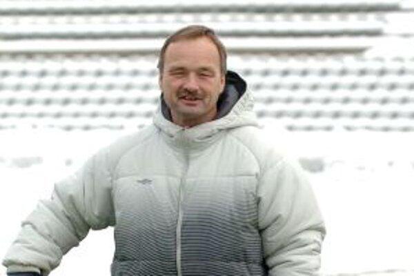 Tréner Spartaka Myjava Ladislav Hudec