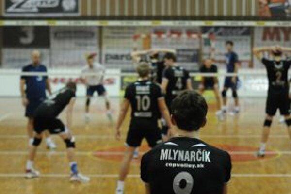 Za ATC Trenčín COP hrajú nádejní reprezentanti.