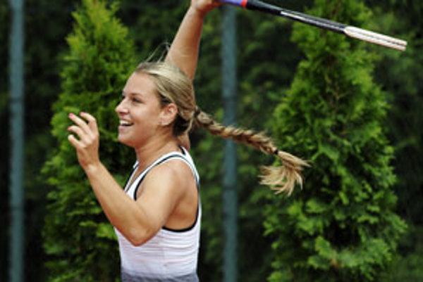 Naša mladá tenisová nádej na Wimbledone je Dominika Cibulková.