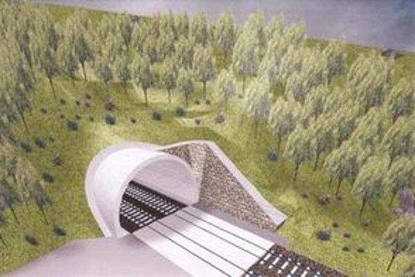 Jednorúrový dvojkoľajový tunel má byť úplne dokončený v máji 2013.