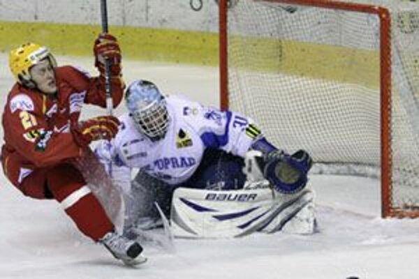 Trenčiansky hokejista Radoslav Tybor je v súčasnosti veľkým talentom slovenského hokeja.