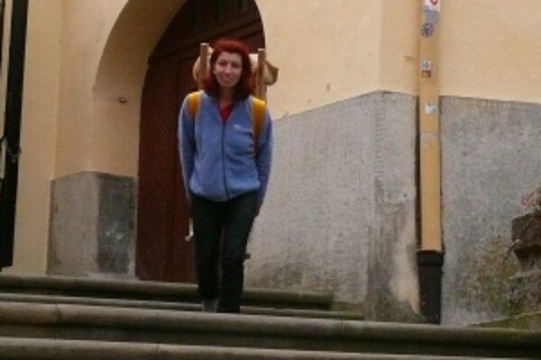Súťaž Nosičov sen si vlani vyskúšala aj riaditeľka festivalu Mária Dutková