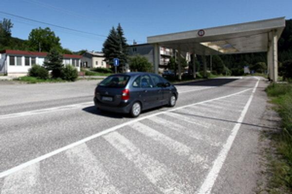Hraničný priechod Horné Srnie - Brumov-Bylnice.
