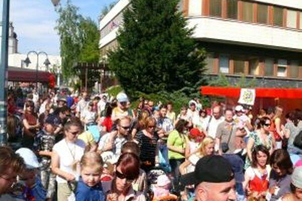 V Trenčíne na Míľu pre matku prišlo 719 účastníkov