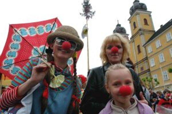 Na deň klaunov sa v Trenčíne pokúsia vytvoriť nový klaunovský rekord.