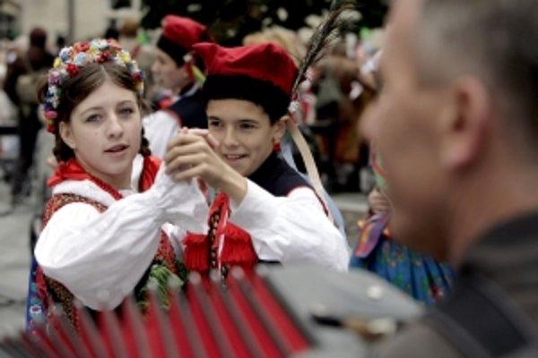 Myjavský festival spolu s Detvou a Východnou patrí do trojky najväčších folklórnych podujatí na Slovensku.