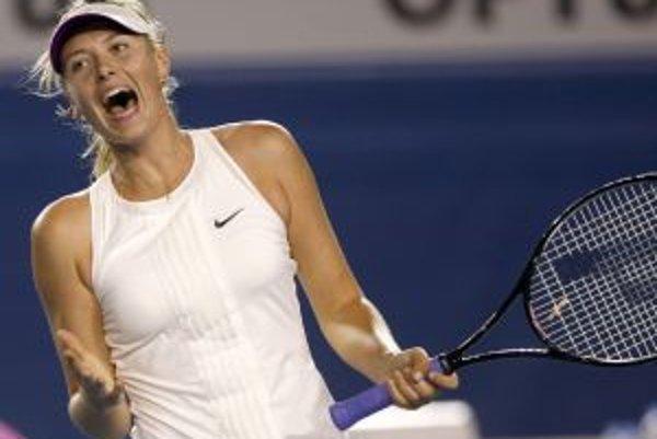 Mária Šarapovová je v semifinále prvého grandslamu roka.