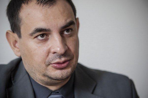 Rómsky poslanec Peter Pollák.