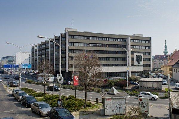 Na snímke budova Ministerstva spravodlivosti Slovenskej republiky. V budove sídli aj Najvyšší súd SR.