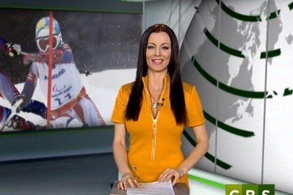 Moderátorka Kristína Kormúthová.