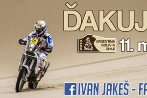 Ivan Jakeš na Dakare 2014.
