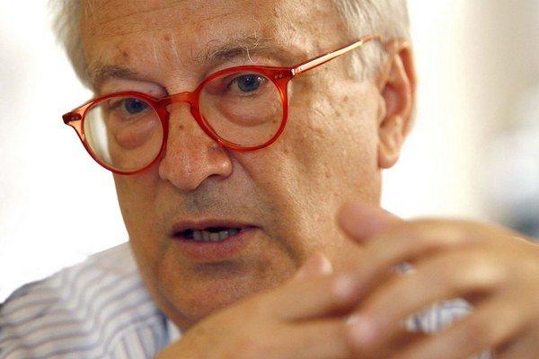 Líder skupiny socialistov a demokratov (S&D) Hannes Swoboda.