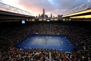 Rod Laver Arena v Melbourne.