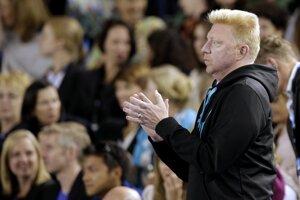 Djokovičovi fandil aj jeho tréner Boris Becker.