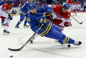 Švédsky obranca Erik Karlsson.