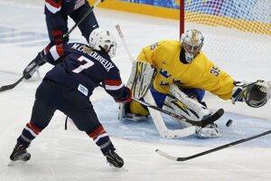 Hokejistky USA v semifinále zdolali Švédsko 5:0.