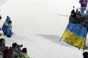 Biatlonistky vybojovali pre Ukrajinu iba druhú zlatú medailu v histórii zimných olympijských hier.