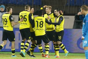 V Petrohrade Borussia Dortmund vyhrala 4:2.