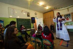Bohoslužba v osade