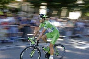 Peter Sagan má v súťaži o zelený dres veľký náskok.