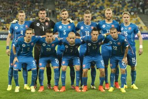 Slovenskí futbalisti začali na Ukrajine kvalifikáciu EURO 2016.