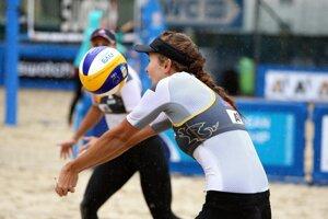 Slovenské plážové volejbalistky vyhrali na ME aj druhý zápas.