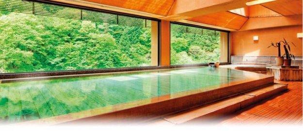 Kúpele Nishiyama Onsen Keiunkan, Japonsko