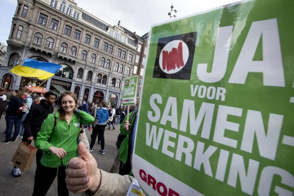 Plebiscit v Holandsku je výsledkom úsilia euroskeptických iniciatív.