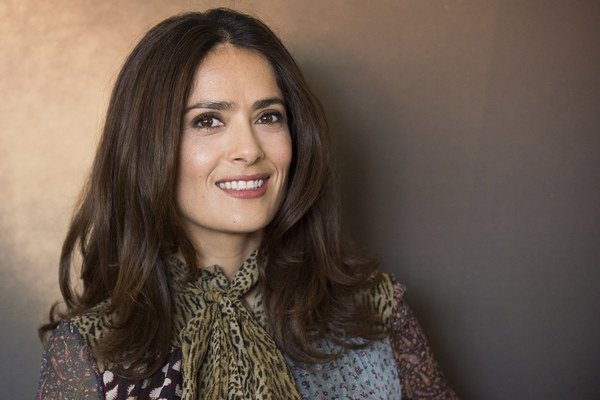 Salma Hayek (48).