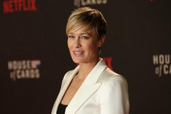 Americká herečka Robin Wright (49).