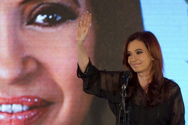 Bývalá argentínska prezidentka Cristina Fernándezová.