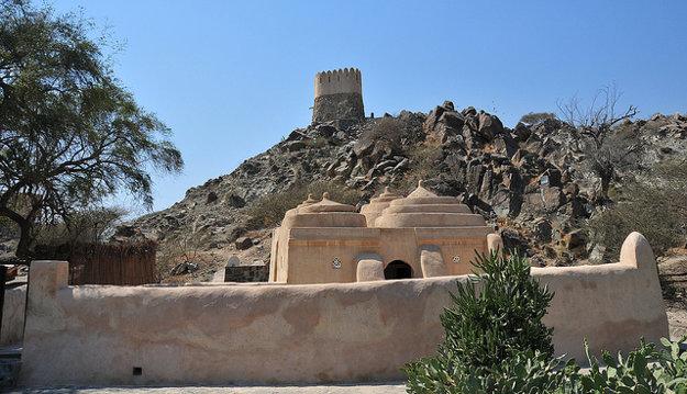 Mešita Al Bidyah v emiráte Fudžajra je najstaršia v krajine.