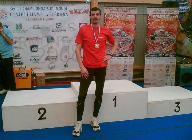 V roku 2008 získal Peter Sládek svetové zlato.