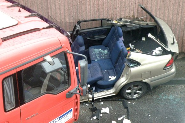 Naposledy sa nehoda v podjazde stala v polovici apríla.
