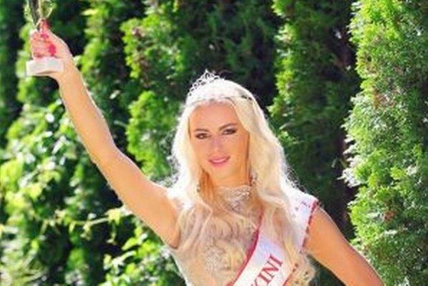 Martina si priniesla z Rumunska titul Miss European Bikini.