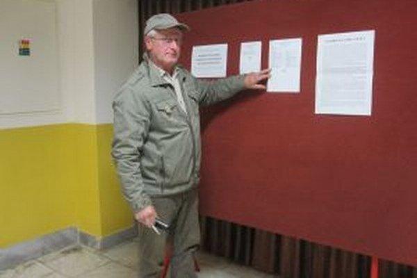 V Kysuckom Lieskovci sa zmenili poradové čísla poslancov. jedným z dotknutých bol aj Jozef Kurucár.