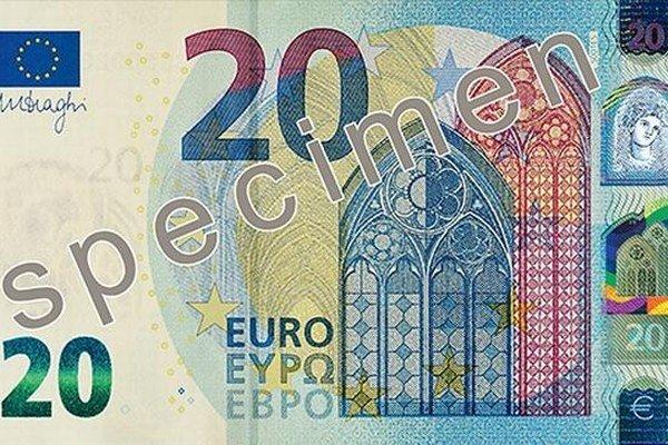 Nová bankovka obsahuje viac bezpečnostných prvkov.